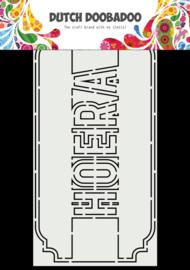 Ddbd 470.713.863 Card Art Slimline Hoera