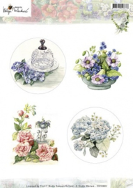 3D Knipvel - Helga Martare - Pictures - bloemen CD10699
