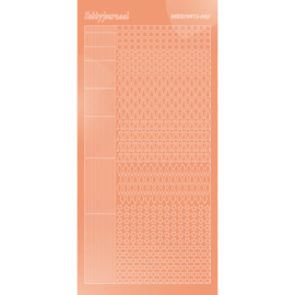 Hobbydots sticker - Mirror - Salmon 009 STDM09K