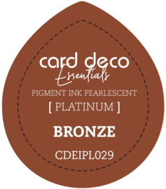Card Deco Essentials Fast-Drying Pigment Ink Pearlescent Bronze CDEIPL029