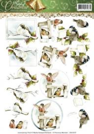 3D Knipvel - Precious Marieke - Spirit of Christmas - Kerstdiertjes CD10737