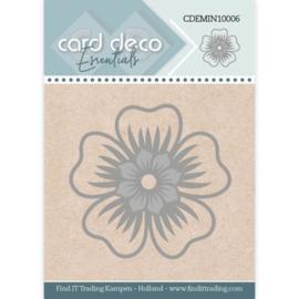 Card Deco Essentials - Mini Dies - Flower CDEMIN10006