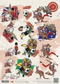 3D Knipvel Amy Designs - CD10361 Landen