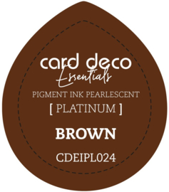 Card Deco Essentials Fast-Drying Pigment Ink Pearlescent Brown CDEIPL024