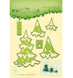 Leane creatief Lea'bilitie - Christmas Trees 45.0829