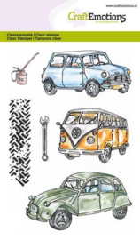 CraftEmotions clearstamps A6 - Classic Cars 1 - 130501/1279
