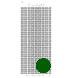 Nellie`s Choice CrossCraft stickers dark green CRST017