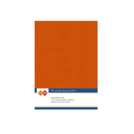 Linen Cardstock - A5 - Autumn Orange LKK-A559