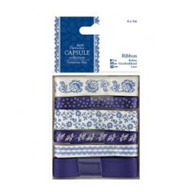 1m Ribbon (6pcs) - Capsule Collection - Parisienne Blue PMA 367111