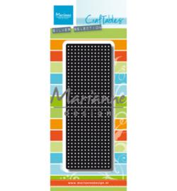 Marianne D Craftable Cross stitch border - CR1473 - 131.5 x 47.5 mm