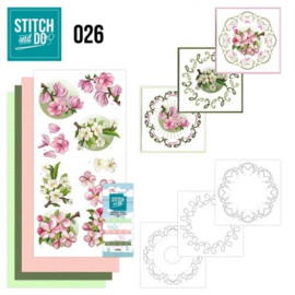 Stitch and Do 26 - Spring Flowers STDO026