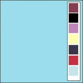 LinnenArt kaartkarton A5 licht blauw 28 LKK-A528