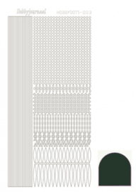 Hobbydots sticker - Mirror - Christmas Green 003 STDM03J