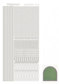 Hobbydots sticker Mirror Apple 003 STDM031