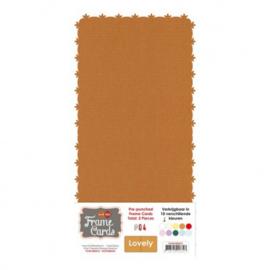 Frame Cards - Lovely - Vierkant - Koffiebruin FC4K1000412
