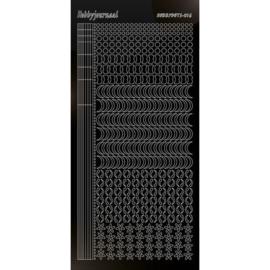 Hobbydots sticker - Adhesive - Black 16 STDA163