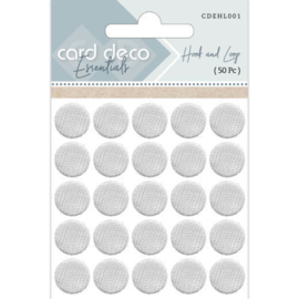 Card Deco Essentials - Hook and Loop ( 50 Pc ) CDEHL001