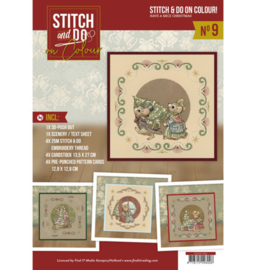 Stitch and Do on Colour 009 - Yvonne Creations - Have a Mice Christmas STDOOC10009
