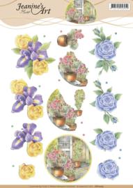 3D Knipvel - Jeanines Art - Always Flowers  CD11205