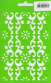 Joy embossing stencil vierkant 6002/0616