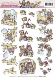 3D Knipvel - Yvonne Creations - Celebrations - Birthday CD10631 - HJ13201