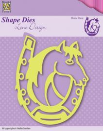 Shape Die Lene Design Horse shoe SDL005