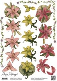 3D Knipvel - Amy Design - Bloemen CD10465