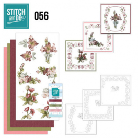 Stitch and Do 56 - Fantastic Flowers STDO056