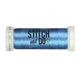 Stitch & Do 200 m - Linnen - Hemels blauw SDCD29