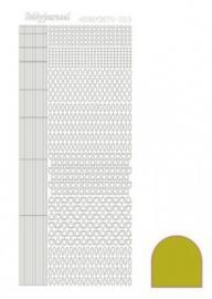 Hobby dots sticker mirror Yellow 005 STDM05E