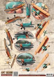 3D Knipvel - Amy Design - Vintage Vehicles - Planes CD10847