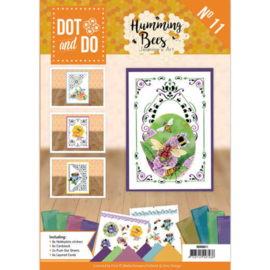 Dot and Do Book 11- Jeanine's Art - Humming bees DODOA6011
