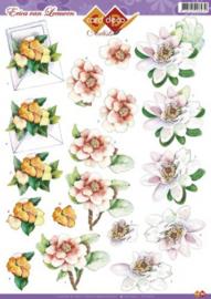 3D Knipvel Erica van Leeuwen - CD10373 bloemen