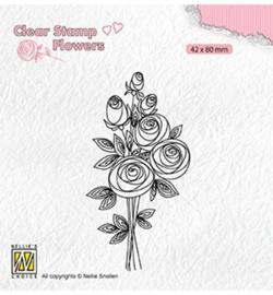 Nellie FLO021 - Bouquet roses-2