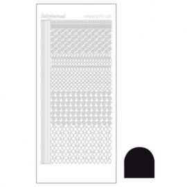 Hobby dots sticker Adhesive black 019 STDA193