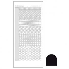 Hobby dots sticker Adhesive black 019 STDA193