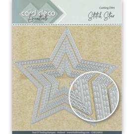 Card Deco Essentials Cutting Dies Stitch Star CDECD0032