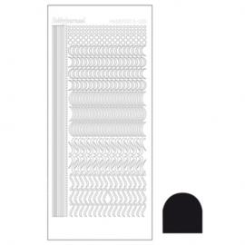 Hobbydots sticker - Adhesive Black 020 STDA203
