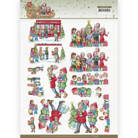 3D Cutting Sheet - Yvonne Creations - The Heart of Christmas - Shopping CD11728