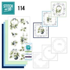 Stitch and Do 114 Blueberry Christmas STDO114
