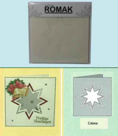 Romak Kaart Ivoor 3 stuks K3-136-22