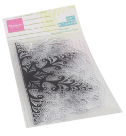 MD MM1636 - Art stamps - Ice Crystal