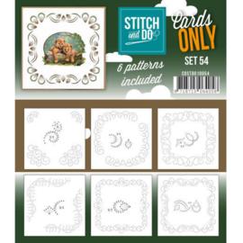 Cards only Stitch 54 4k COSTDO10054