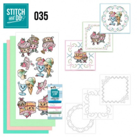 Stitch and Do 35 - Cupcakes STDO035
