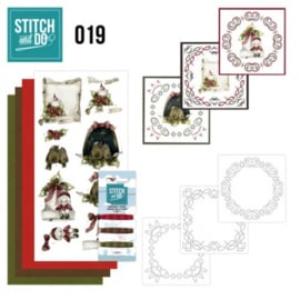 Stitch and Do 19 - Snowy Detail STDO019