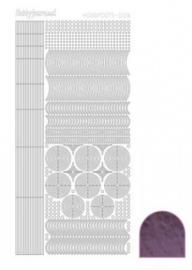 Hobbydots sticker Mirror Violet 006 STDM066