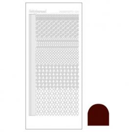 Hobby dots sticker Mirror Brown 019 STDM19G