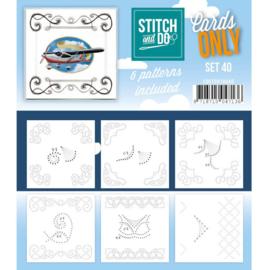 Cards only Stitch 40 COSTDO10040