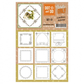 Dot & Do - Cards Only - Set 13 CODO013