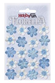 FLORELLA-Blüten blau, 2cm 3866034